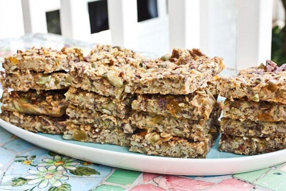 Baked Oatmeal Snack Bars - Kath Eats Real Food