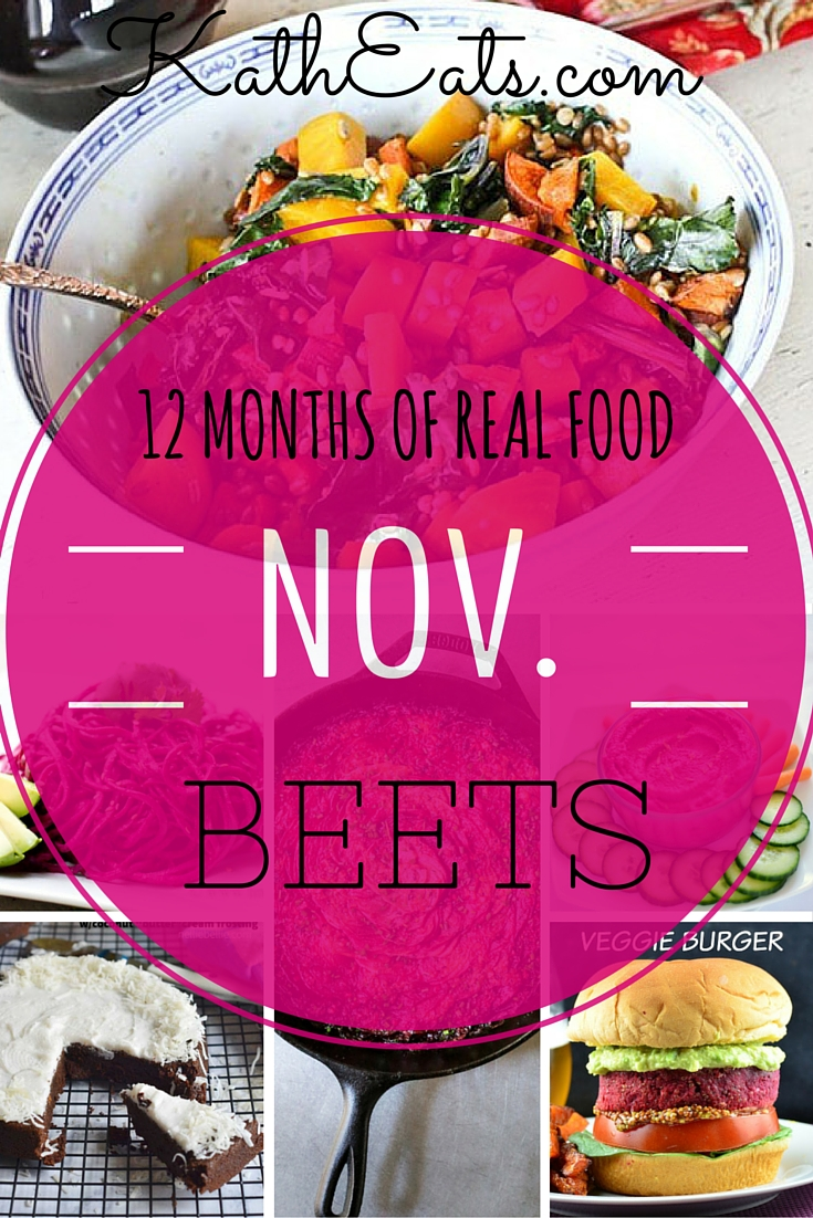 12 Months of Real Food: Beets