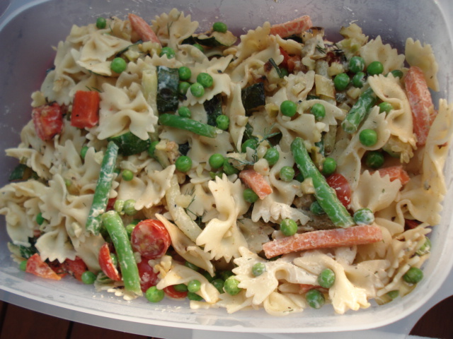 Healthy vegetable pasta salad recipes