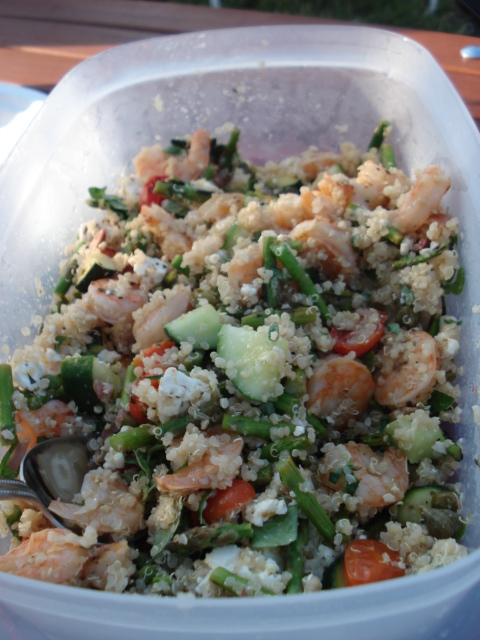Greek Quinoa Salad Kath Eats Real Food