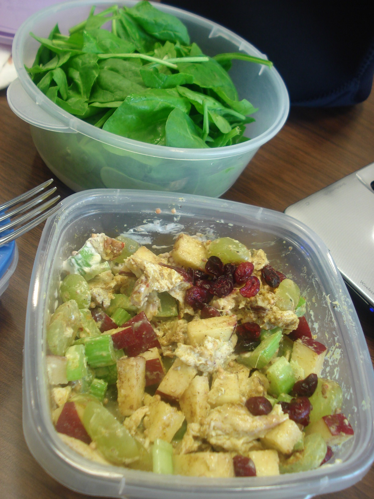 Whole Foods Curry Chicken Salad With Cranberries