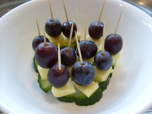 grape cheese cucumber