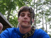 Kanz with snake on head
