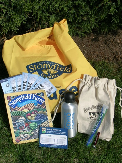 Stonyfield Giveaway