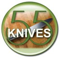 55 knives button round small