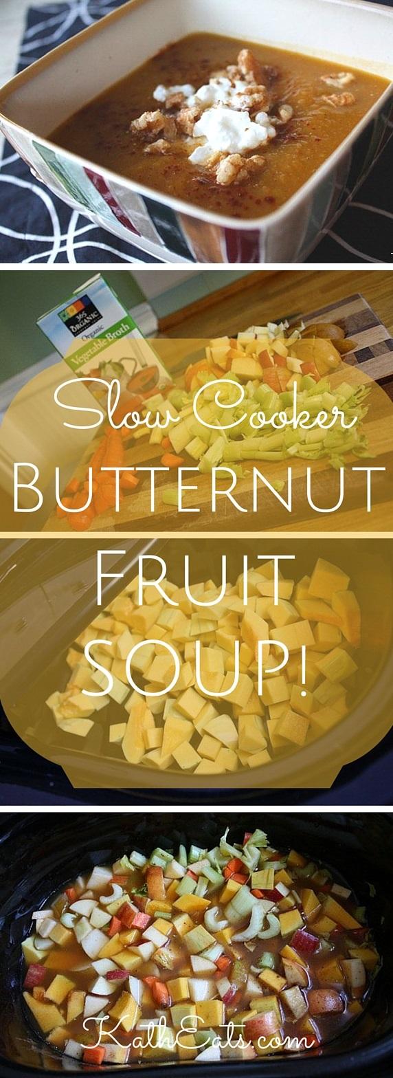 Butternut Fruit Soup