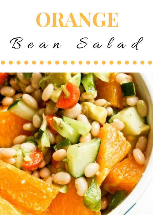 Orange Bean Salad