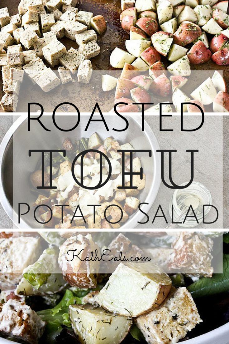 ROASTED Tofu Potato Salad