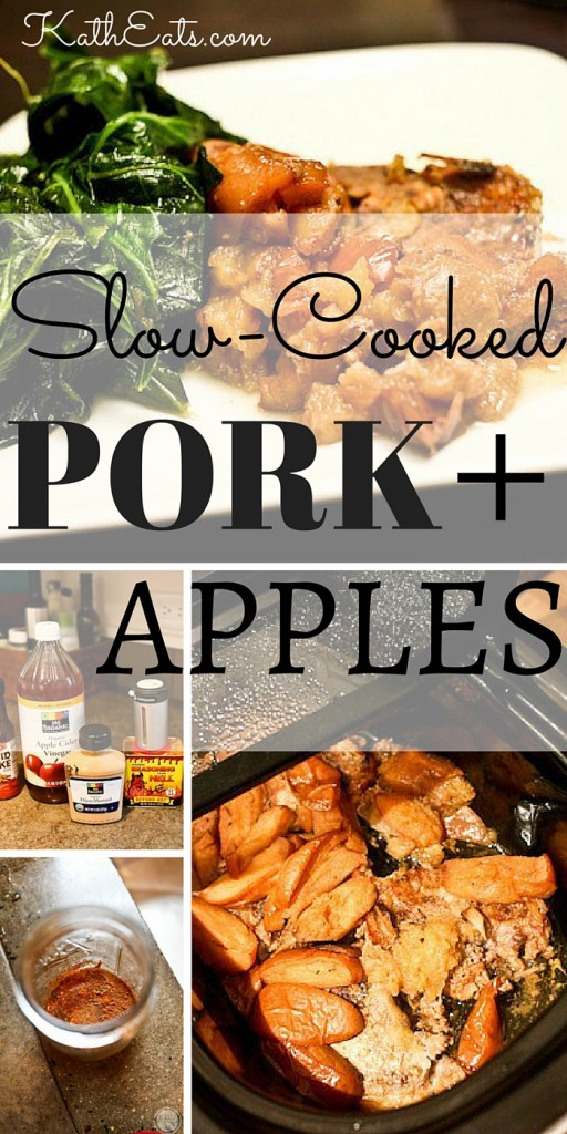 Slow-Cooked Pork + Apples