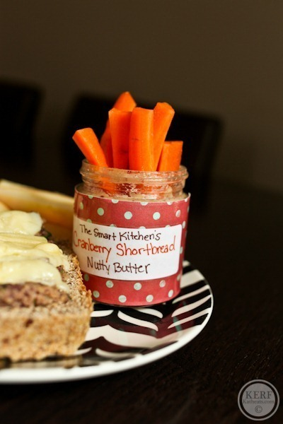 Carrots and nut butter