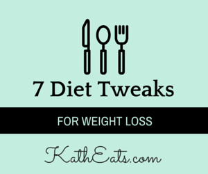 7 Diet Tweaks