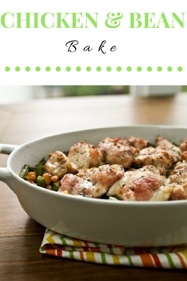 Easy Chicken and Bean Bake