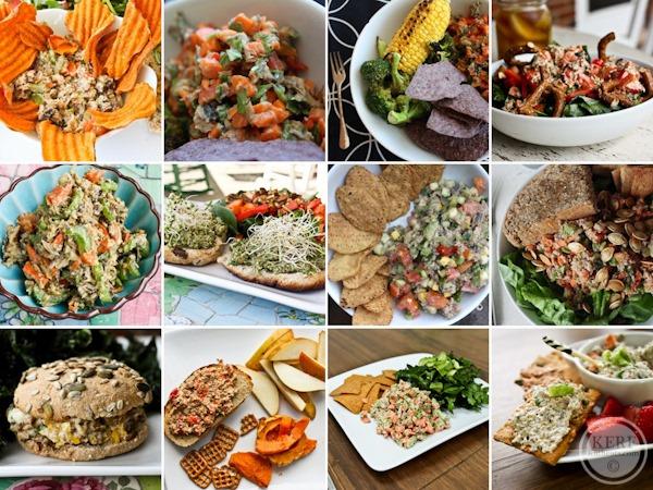 sardine meal collage