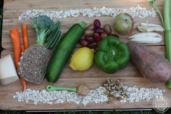The Synergy Of Real Food - vegtables on a cutting board