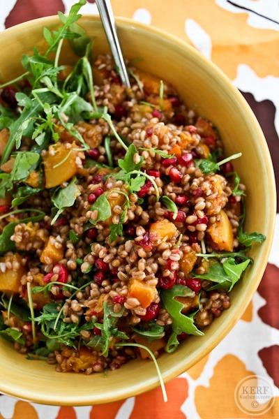 The Ultimate Fall Wheatberry Salad