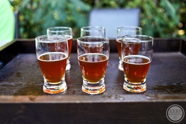 Pumpkin beer tasts
