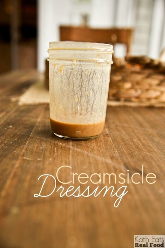 Creamsicle Dressing // Katheats.com
