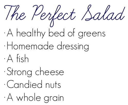 The Perfect Salad // Katheats.com