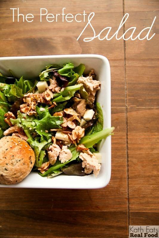 The Perfect Salad // Katheats.com