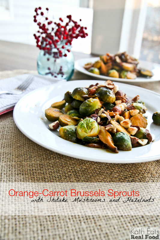 Orange Carrot Brussels Sprouts