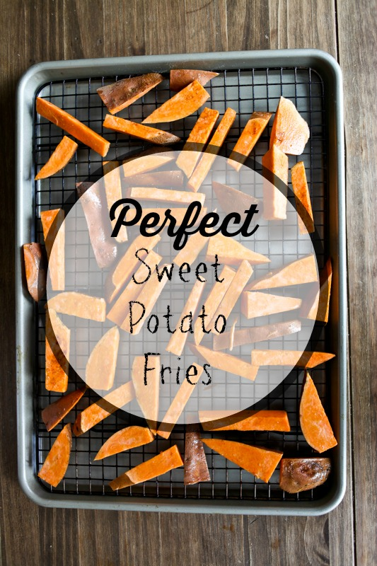 Perfect Baked Sweet Potato Fries