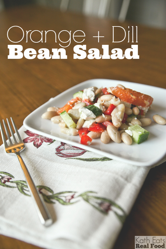 Orange and Dill Bean Salad