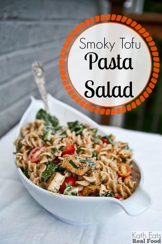 Smoky Tofu Pasta Salad