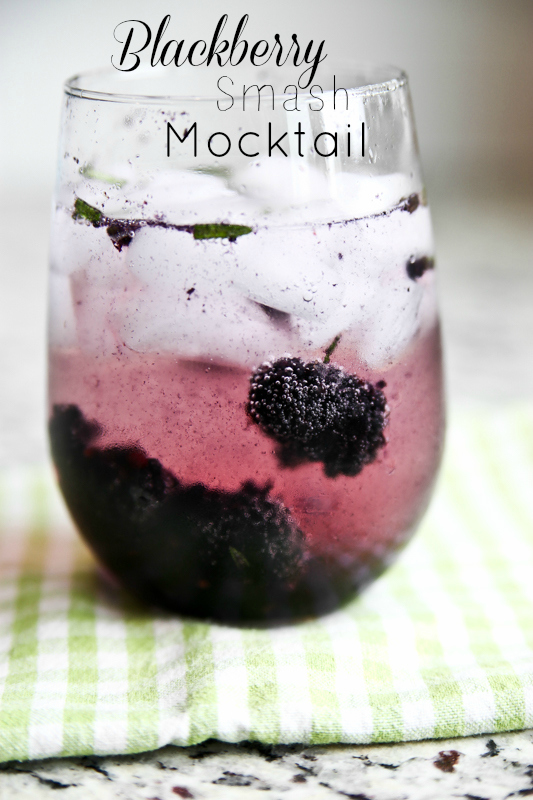 Blackberry Smash Mocktail