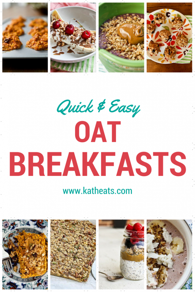 quick and easy oat breakfasts