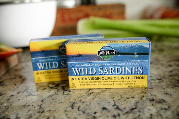 Simple Sardine Salad