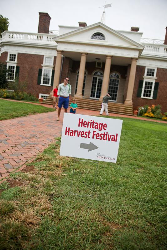 Monticello's Heritage Harvest Festival