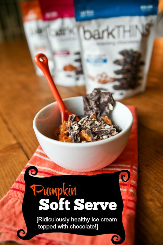 Pumpkin Soft Serve