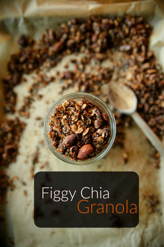 Figgy Chia Granola