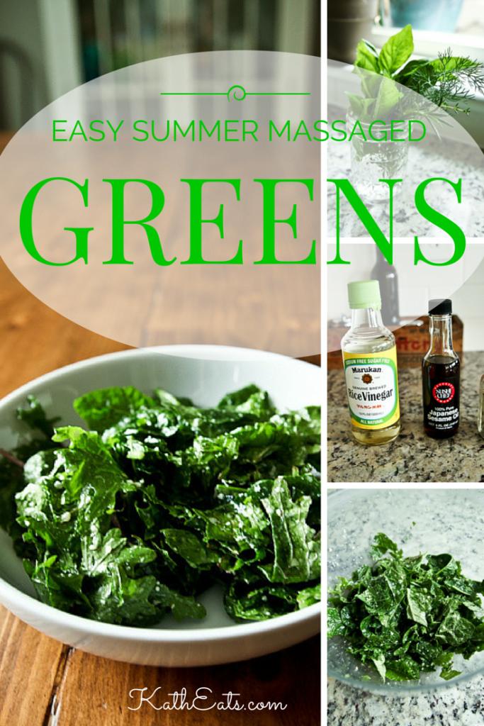 Easy Massaged Greens