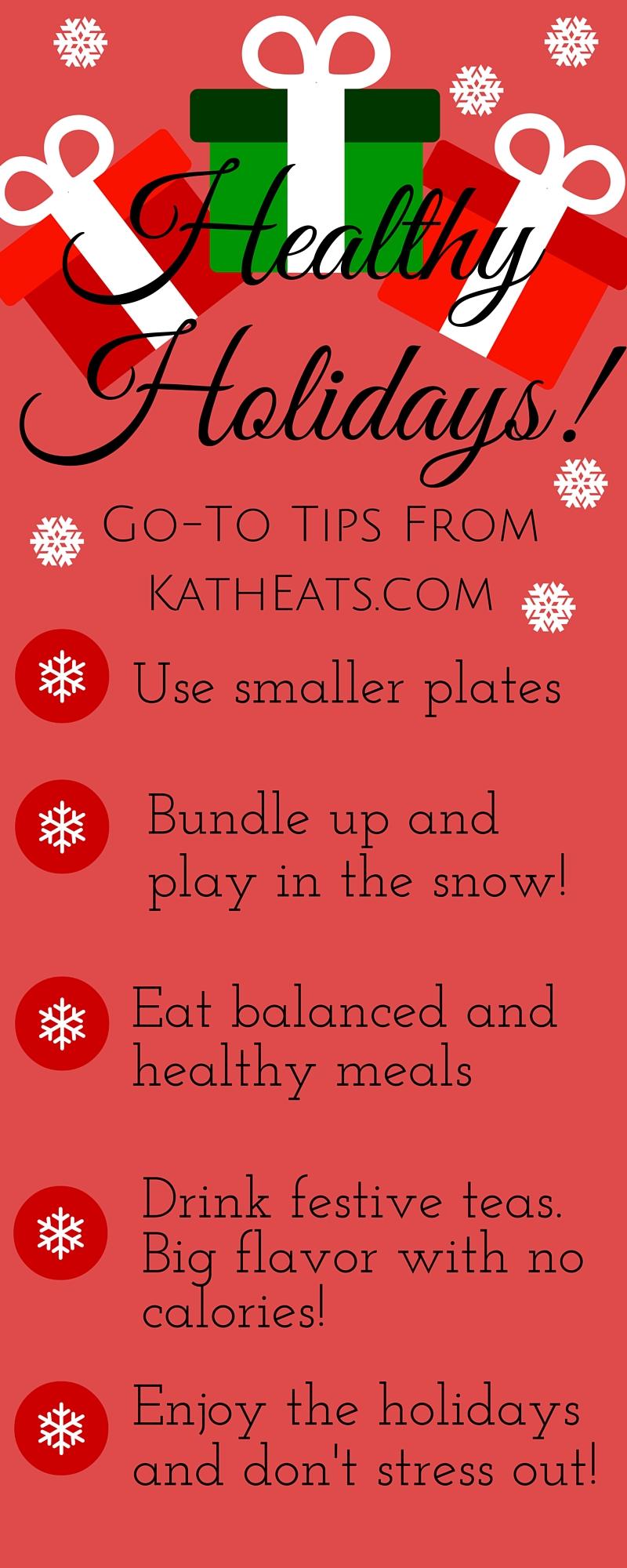Healthy Holidays from Katheats.com