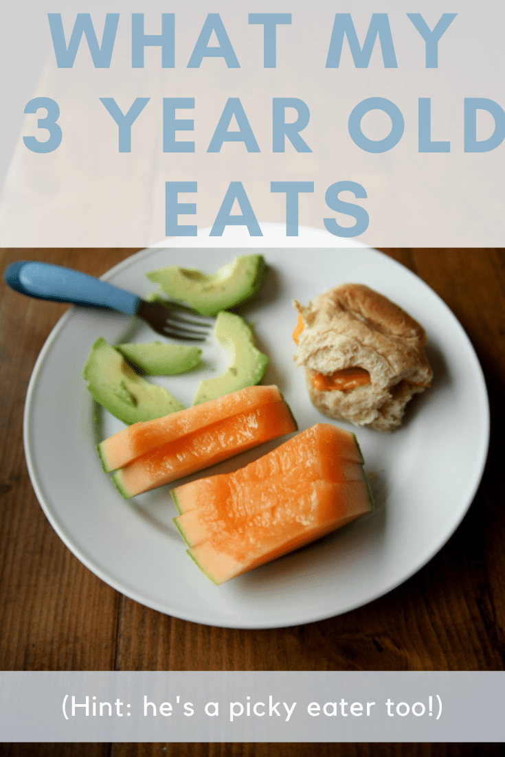 what a 3 year old eats