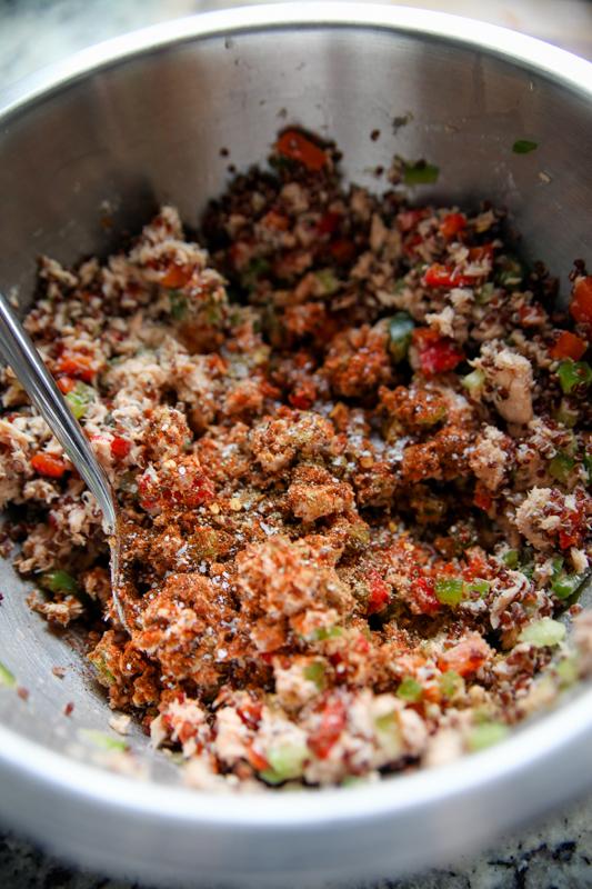Salmon Quinoa Burgers with Mint-Yogurt Sauce - Kath Eats ...
