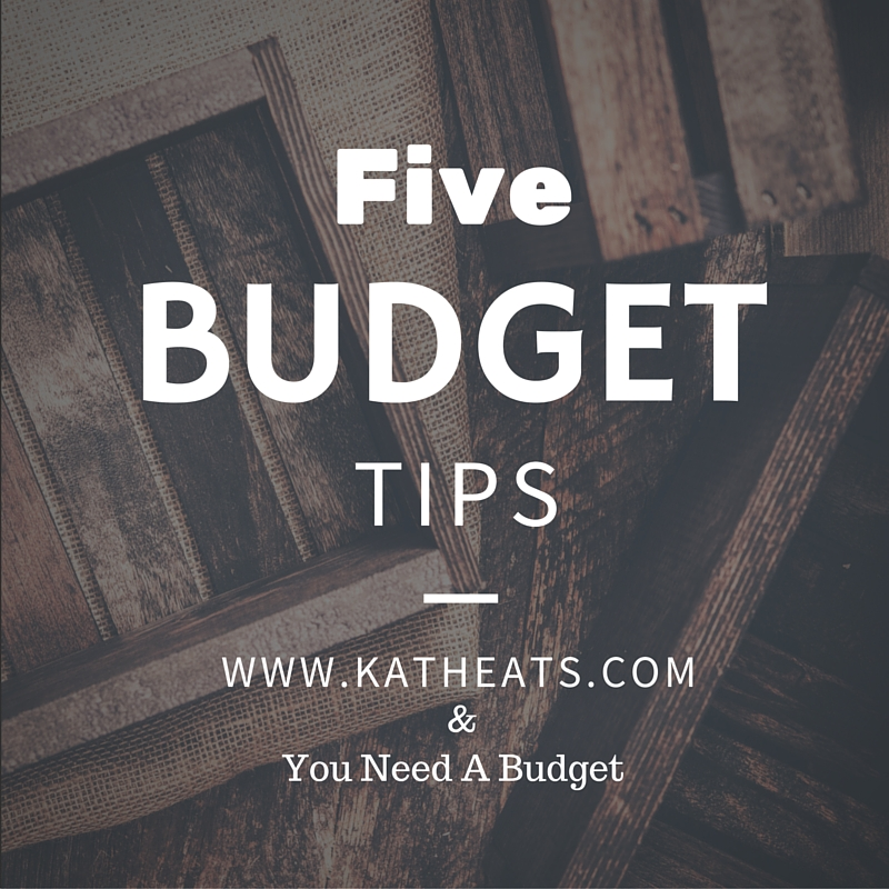 Five Budget Tips from katheats.com
