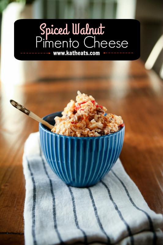 Spiced Walnut Pimento Cheese