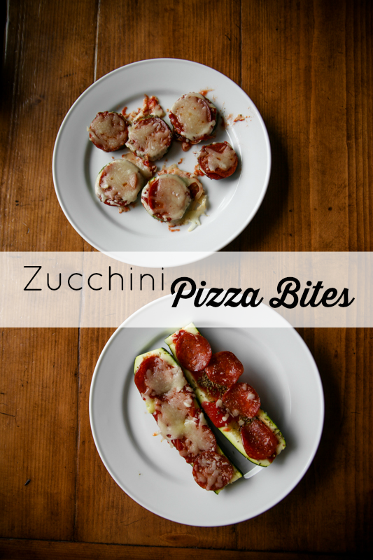 Zucchini Pizza Bites + Giving Kids Choices With Olly