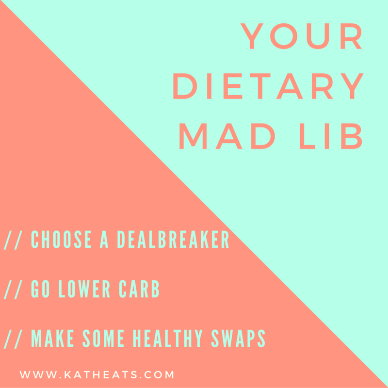 Your dietary Mad Lib