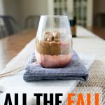 fall spiced chia pudding