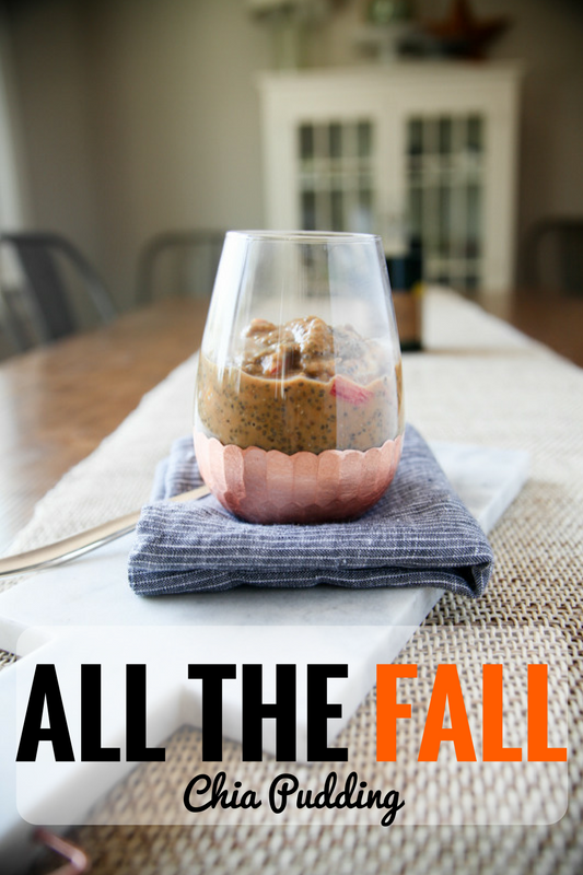 All The Fall Chia Pudding // www.katheats.com