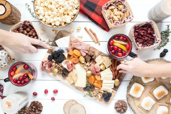holiday-party, healthier holiday party