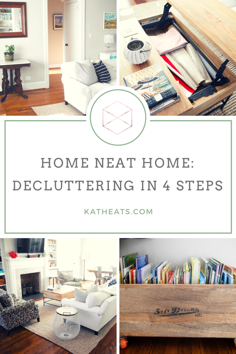 Home neat home decluttering kath eats real food - Important thing consider decluttering ...