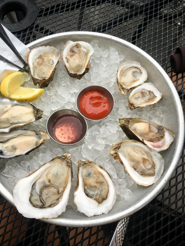 oysters at Public Fish and Oyster in Charlottesville