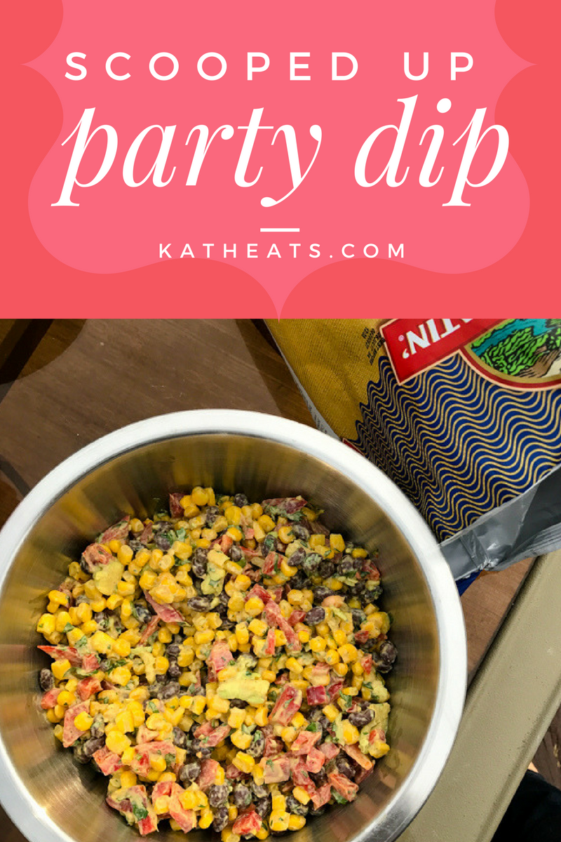 Scooped Up Party Dip // katheats.com