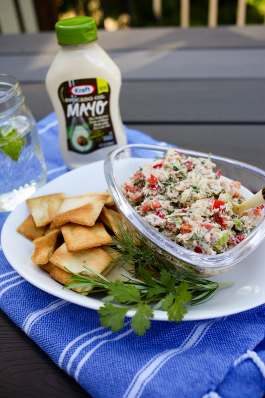 Every Herb Salmon Salad