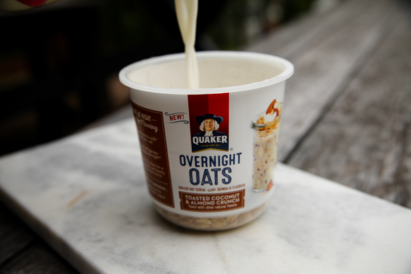 Making Overnight Oats Just Got Even Easier