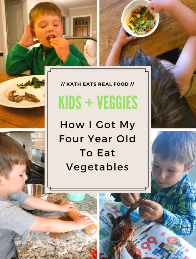 How I Got My Four Year Old To Eat Vegetables